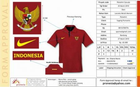 Polo Shirt Garuda